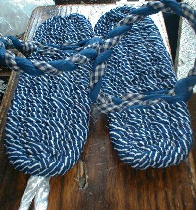 布ぞうりの作り方